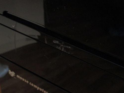 中古(ジャンク)PC本体の傷1